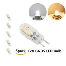 LED MiNi 3W Bi-pin Base JC Type GY6.35 Led Light  AC/DC 12V G6.35 Bulb Lights 20W Halogen Replacement For Kitchen Lighting