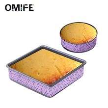 Omife Bakeware Cake Pan Strip Strap Tools Confectionery Cotton Belt For Baking Christmas Accessories