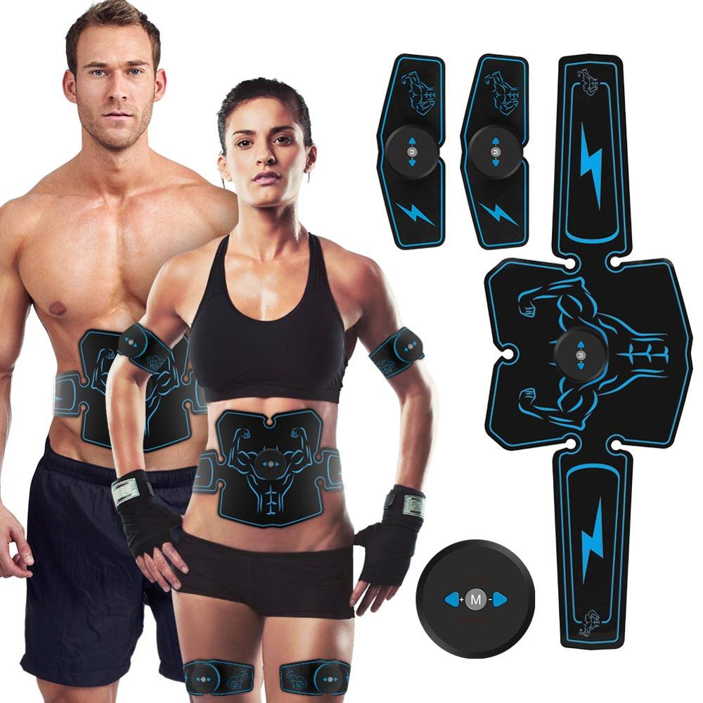 ORICSSON EMS Abdominal Muscle Slimming Machine Fat Burning Training Workout Body Vibration Smart Fitness Equipment image
