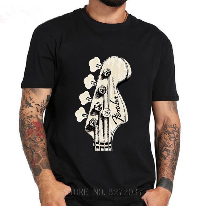 Бас-гитара Рок Хип-хоп Музыка короткий рукав обычные футболки черные мужские s Футболка новейший топ игрушки 2019 модные стильные мужские фут...
