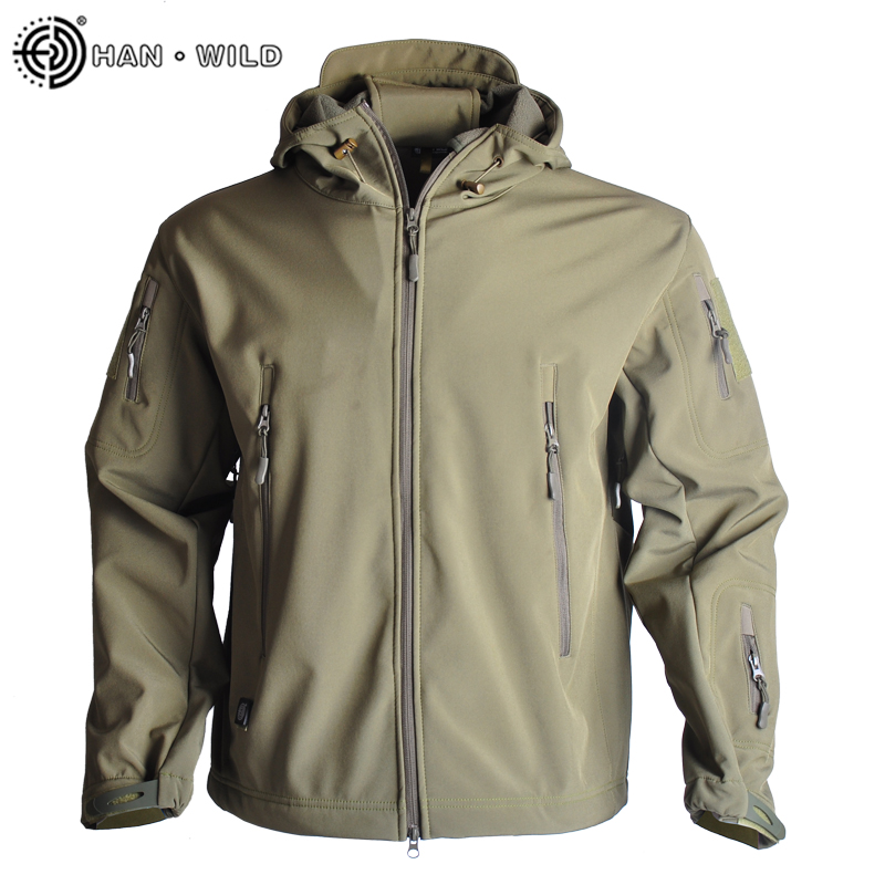 Military Jacket Men's Military Camouflage Fleece Jacket Thermal Hiking Jackets Tactical Clothing Multicam Male Windbreakers|Hiking Jackets| |  - title=