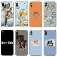 Little Angels baby Silicone Phone Case For Xiaomi Mi 9 8 SE Pro A2 Lite 6X 5 4 A3 A1 Note Max Mix 2 3 Pocophone F1(China)
