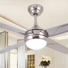 42 дюймовый светодиодный потолочный вентилятор светильник с