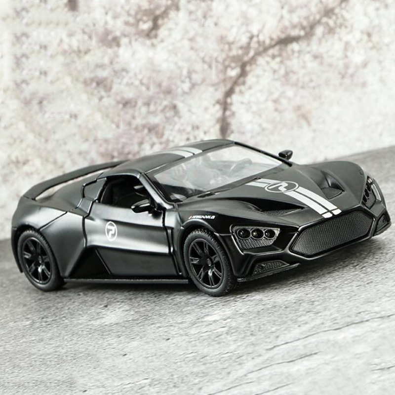 1:32 Scale 14.5CM Car Model ZENVO STI Denmark Classic Racing Off Road Car Model For Children's Toy Gifts Collection Display