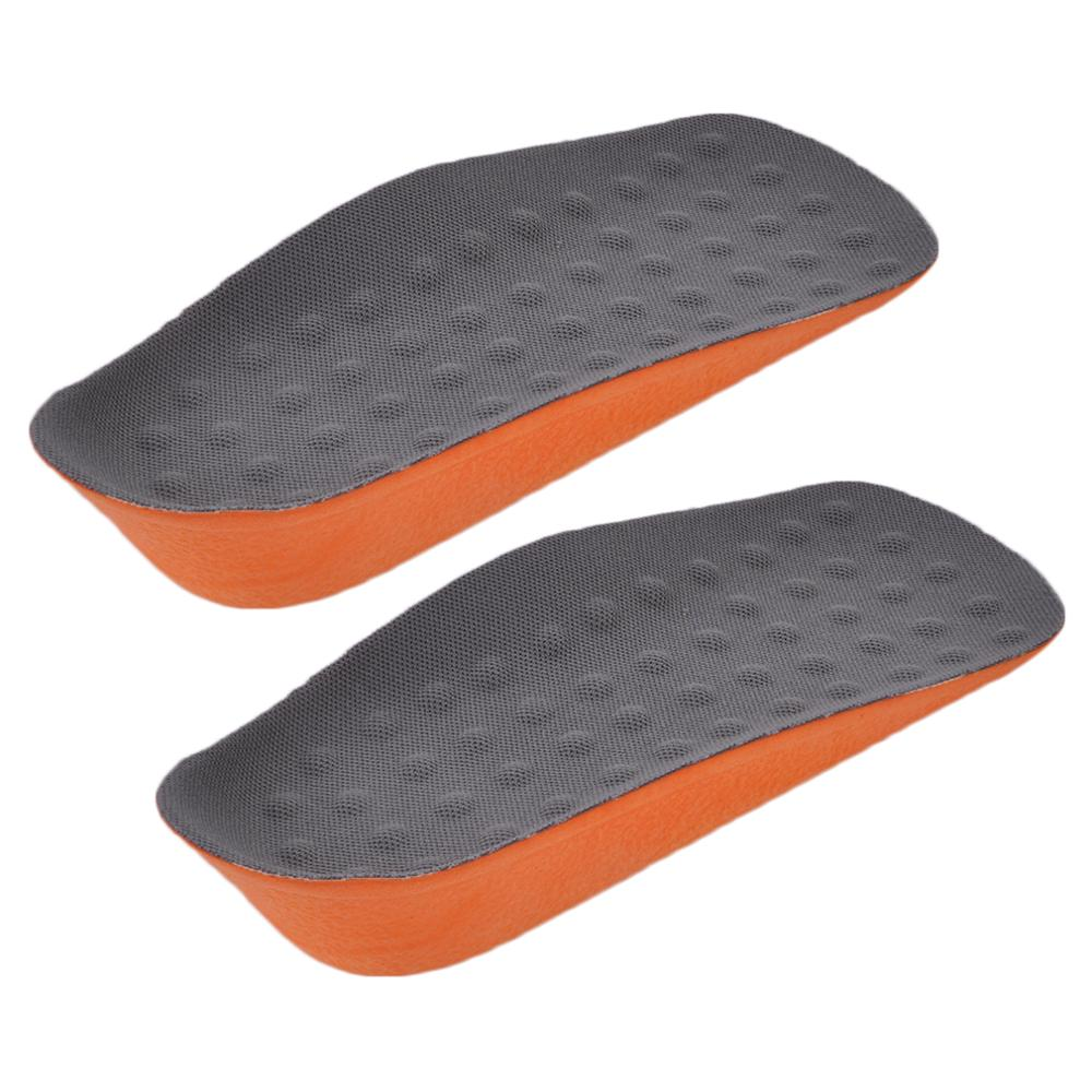 Comfortable Men Woman PU Invisible Inside Increased High Insoles Shoes Support Pad Soft Insole Pain Relief