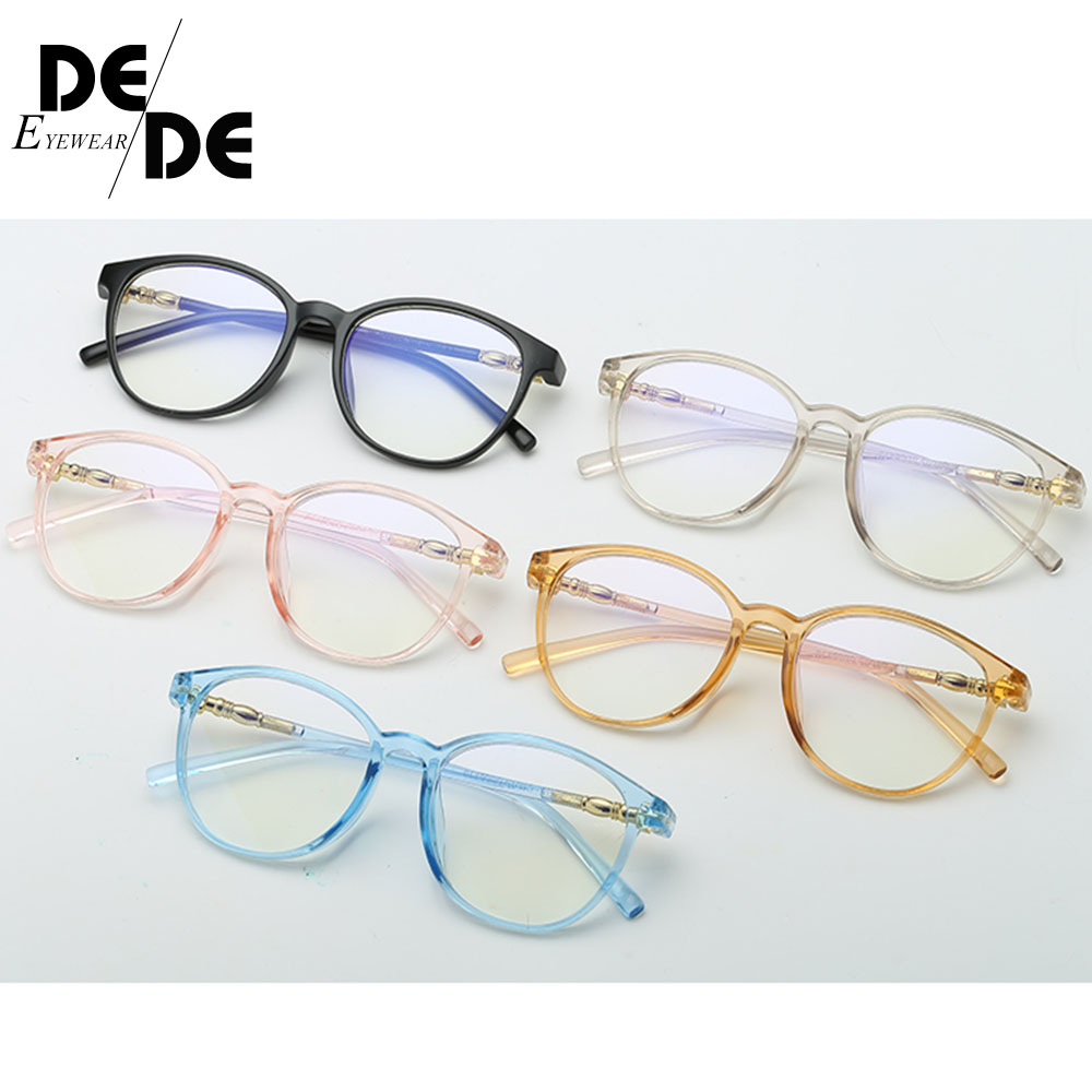 Clear Glasses Frame for Women Men Vintage frame Round Spectacle Transparent Optical Myopic Frames