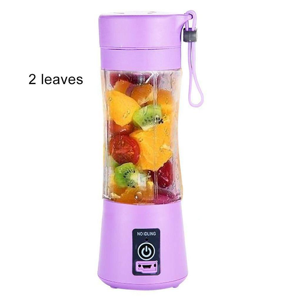 Portable USB Fruit Juicer Shaker Bottle Electric Juicer Smoothie Maker Blender  Mini Household Juicer