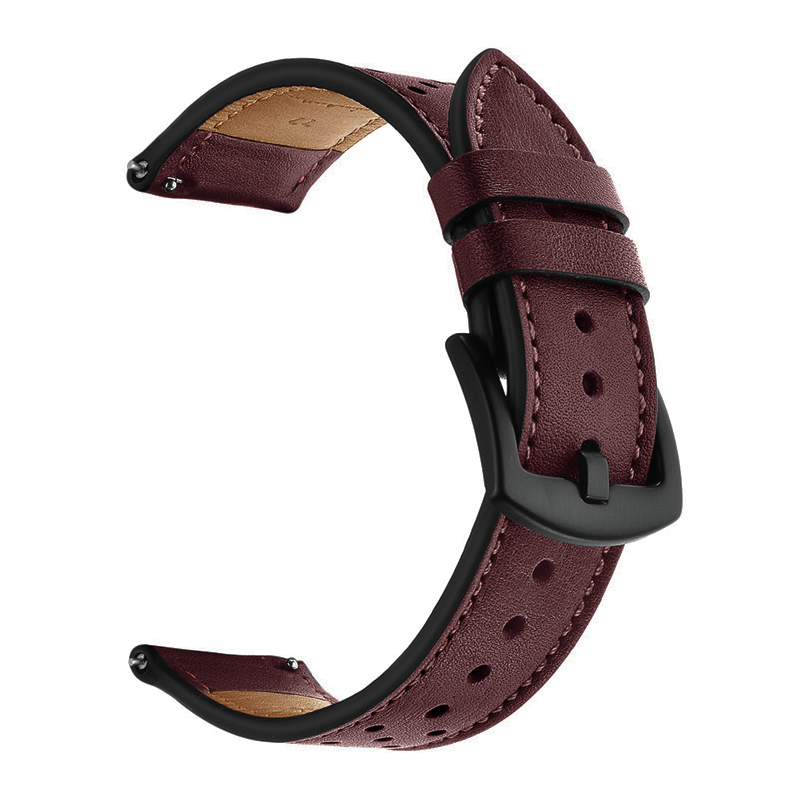 huawei <font><b>watch</b></font> gt strap for <font><b>Samsung</b></font> gear S3 Frontier galaxy <font><b>watch</b></font> <font><b>46mm</b></font> Amazfit GTR 47mm/pace/stratos band Genuine Leather <font><b>bracelet</b></font> image