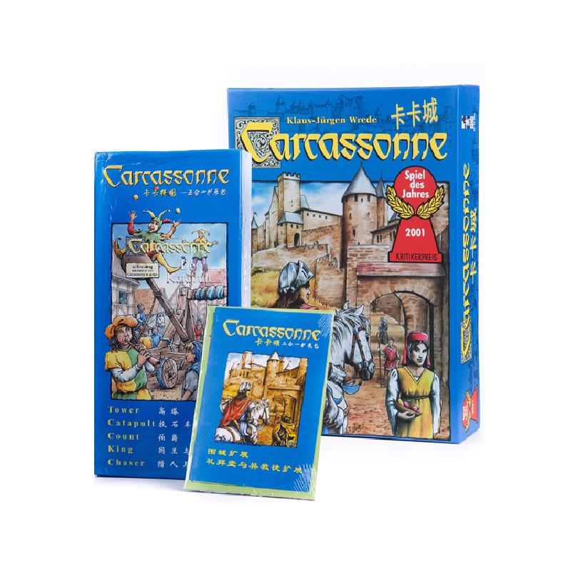 NEW German Games Carcassonne Board Game Expansion Pack