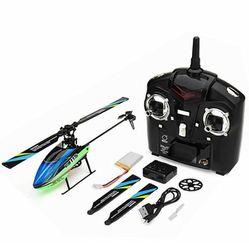 WLtoys V911S 4CH 6G Non-aileron RC Helicopter Aircraft Aileron Aircraft Remote Controller With USB Charger Aircraft Leaf