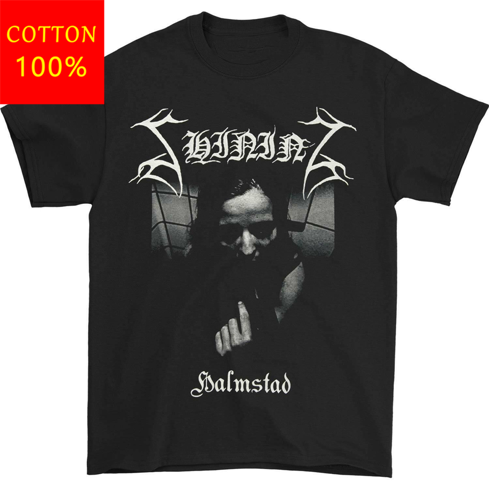 Shining Band MenS Halmstad TShirt Black For Youth <font><b>MiddleAge</b></font> The Old Tee Shirt image