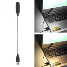 Гибкий портативный USB книга свет 4 светодиодный s лампа для чтения ночник мини-светодиод лампа клавиатура компьютер ноутбук настольные лампы