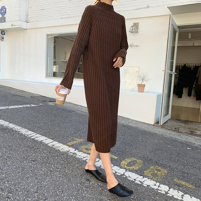 Maternity Dresses for Autumn and Winter 4