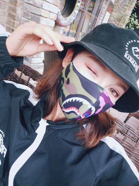 Shark Mouth Mask Cotton Dustproof Mouth Face Mask Women Men Muffle Face Mouth Masks Windproof Mouth-muffle Flu Face Mask