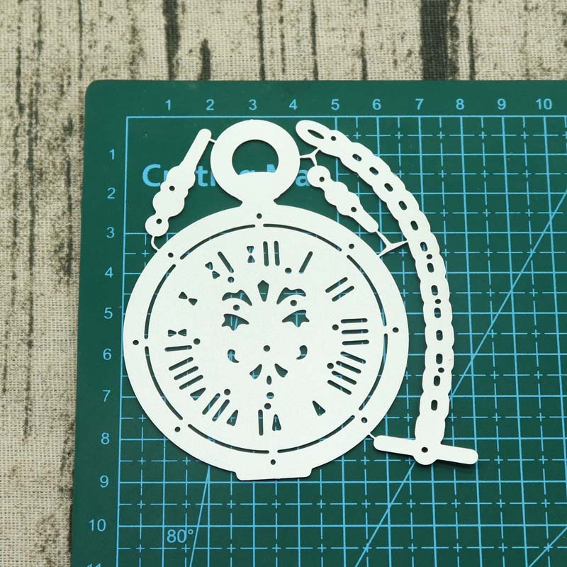 Clock Metal Cutting Dies Cut Die Mold Scrapbook Paper Craft Knife Mould Blade Punch Stencils