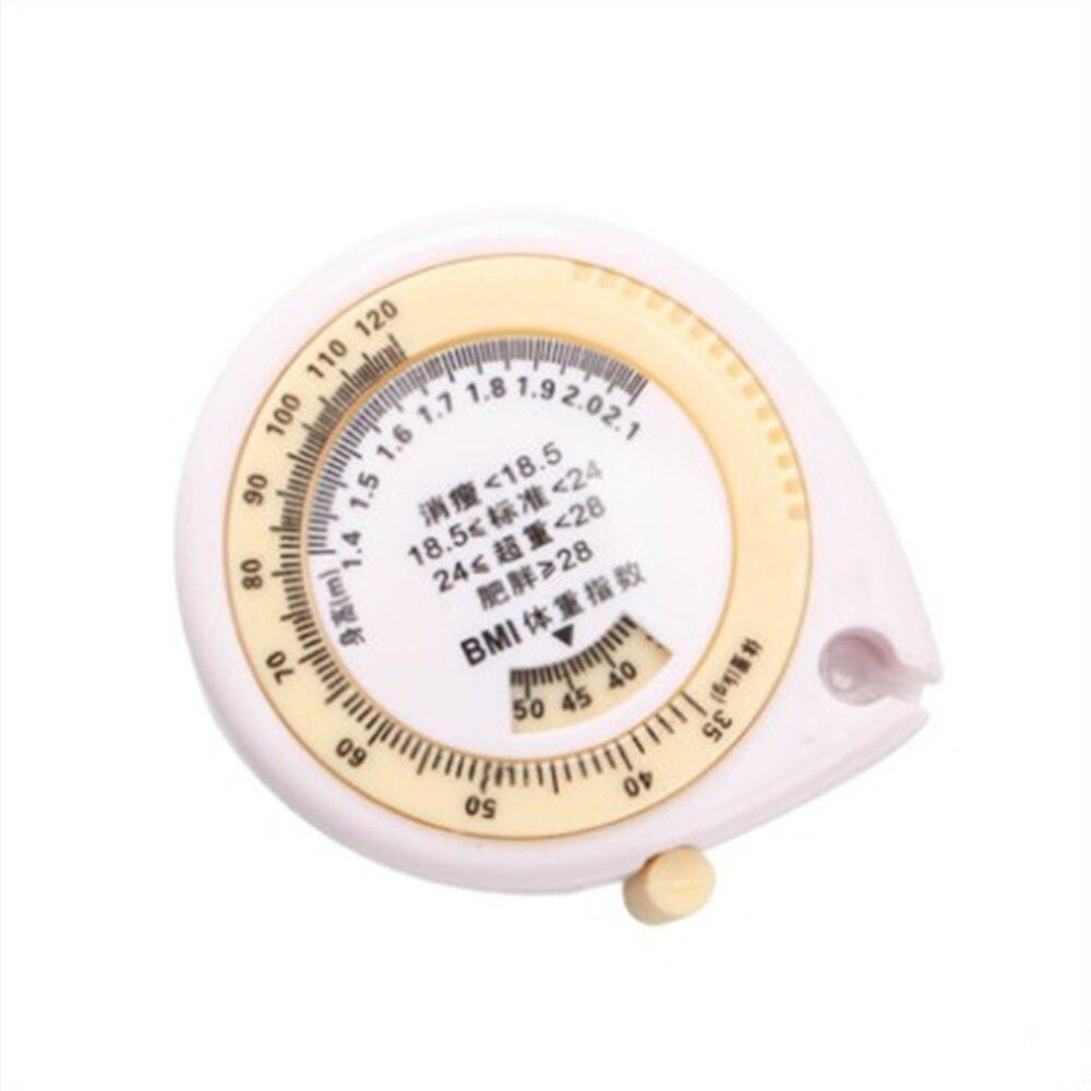 1 Pcs Tape Measure Waist Ruler Hip Ruler Water Drop Ruler Measurement Ruler Automatic Telescopic Tape Measure