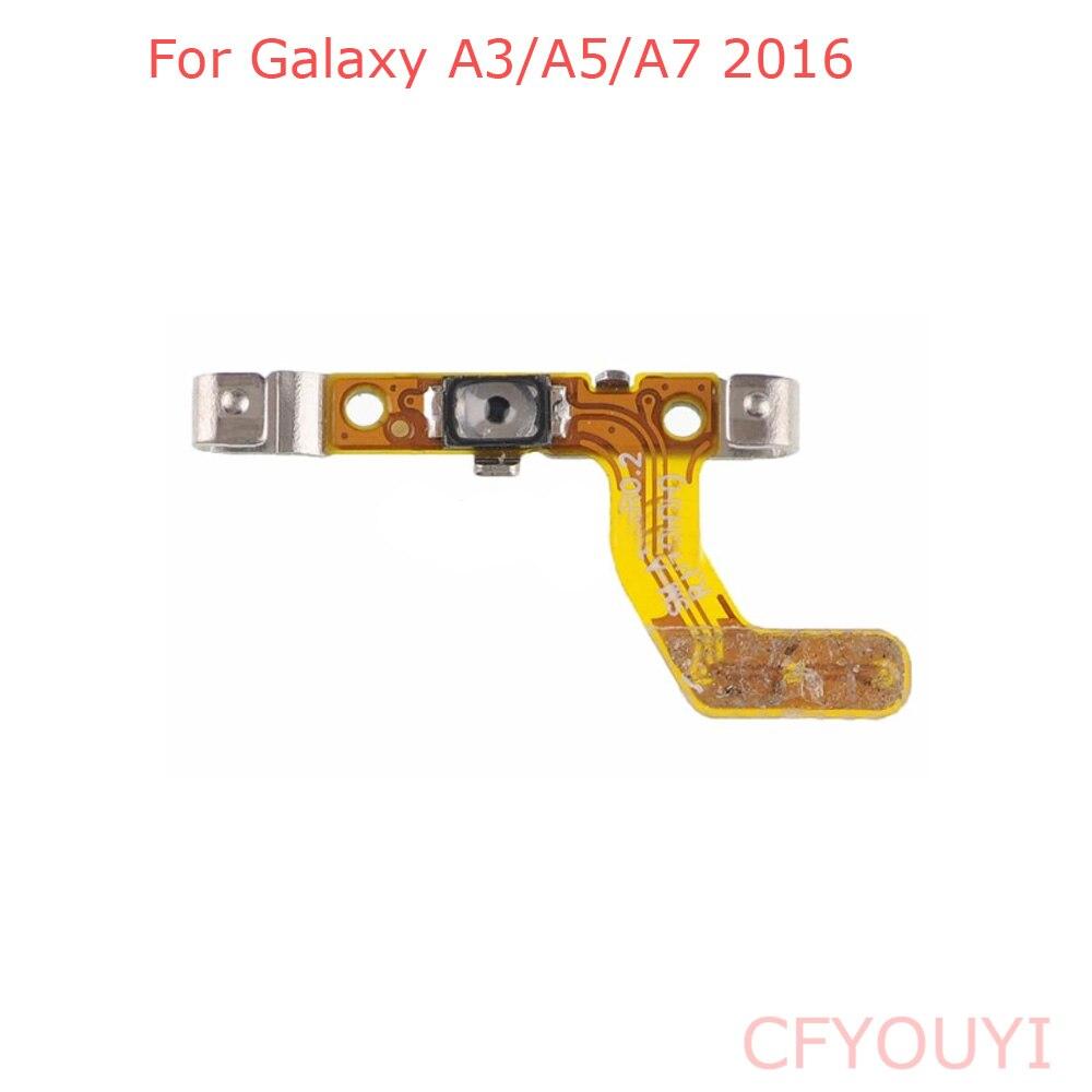 For Samsung Galaxy A3 A5 A7 2016 Replacement Parts Power Button Key Flex A310 A510 A710