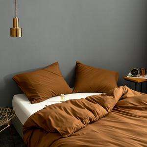 Image 4 - Sólido super macio capa de edredão rei rainha gêmeo completo duplo único conjunto cama europeu consolador capa para casa do hotel