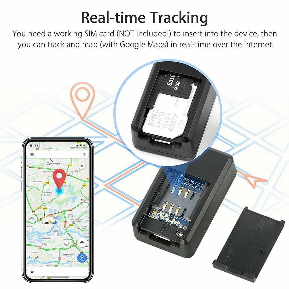 GF-07 Mini traqueur GPS voiture GPS localisateur traqueur Anti-perte enregistrement en temps réel dispositif de suivi peut enregistrer prise en charge TF carte Sim