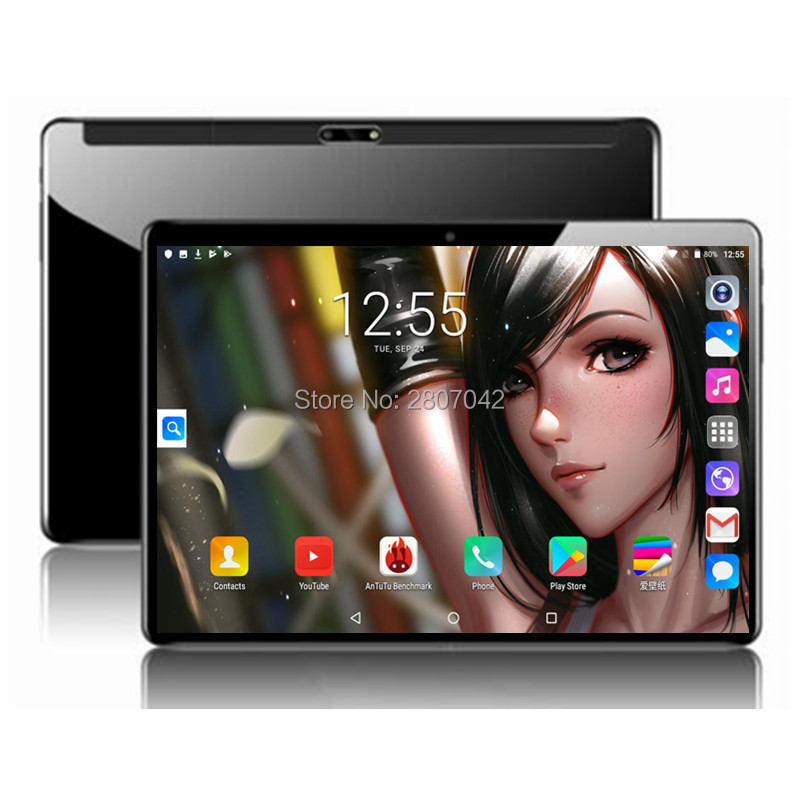 2020 Global Version 10 Inch Tablet Deca Core 6GB RAM 128GB ROM 4G FDD LTE 1920*1200 IPS Dual SIM 8.0MP GPS Android 9.0 Tablet