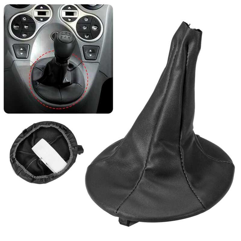 Gear Shift Knob Boot Gaiter Dust Cover for Fiat 500 500C Panda