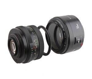Image 4 - Metall Männlichen gewinde zu Männlichen gewinde 49/52/55/58/62/67/72/ 77/82mm Macro Kamera Objektiv Reverse Adapter Ring (35 modelle bieten wahl)