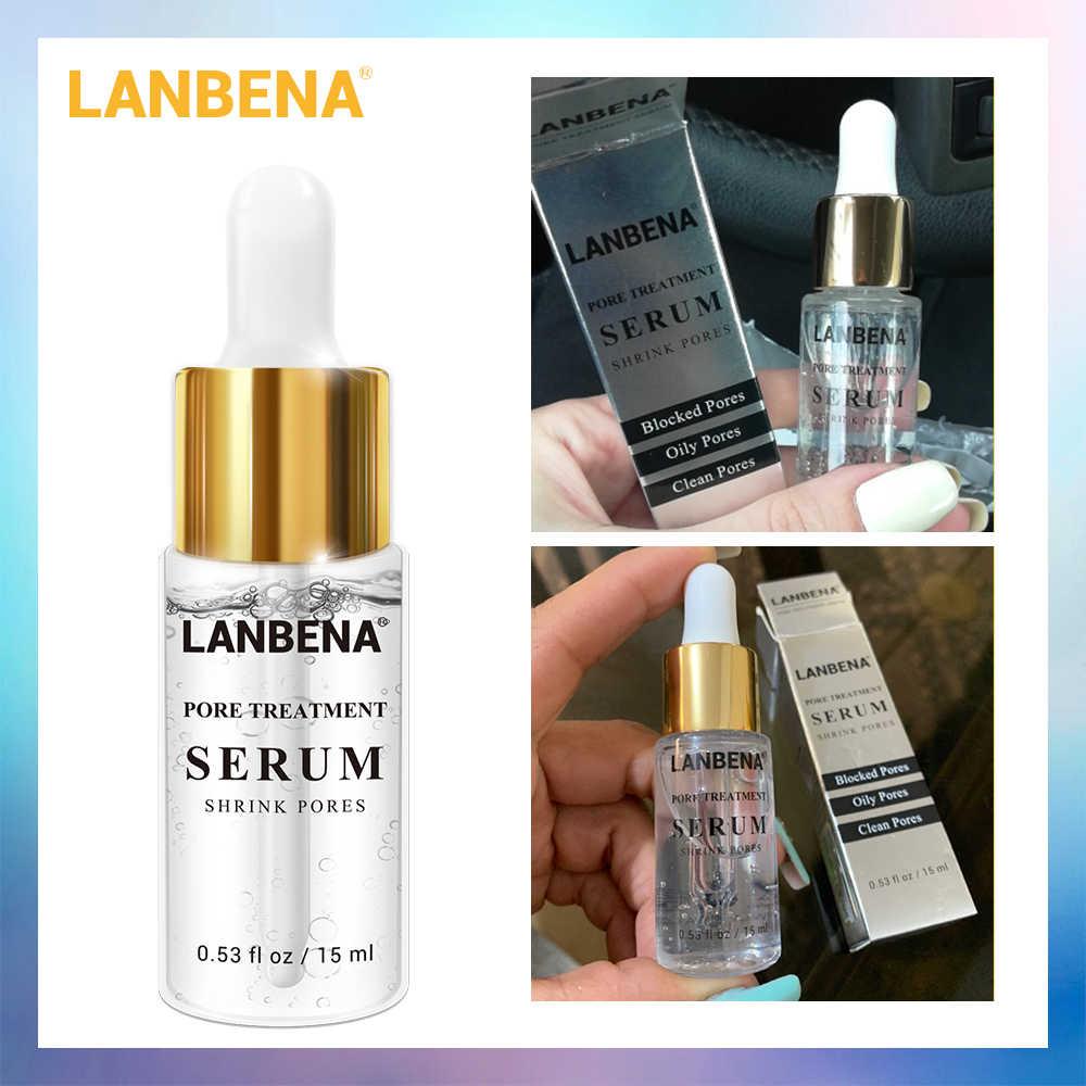 นาฬิกา LANBENA Pore Treatment Essence จมูก Blackhead Remover สิวรูขุมขนกระชับผิวเซรั่มบำรุงผิว