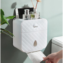 Toilet paper Holder Waterproof Paper Towel Holder Wall Mounted Wc Roll Paper Stand Case Tube Storage Box Bathroom Accessories