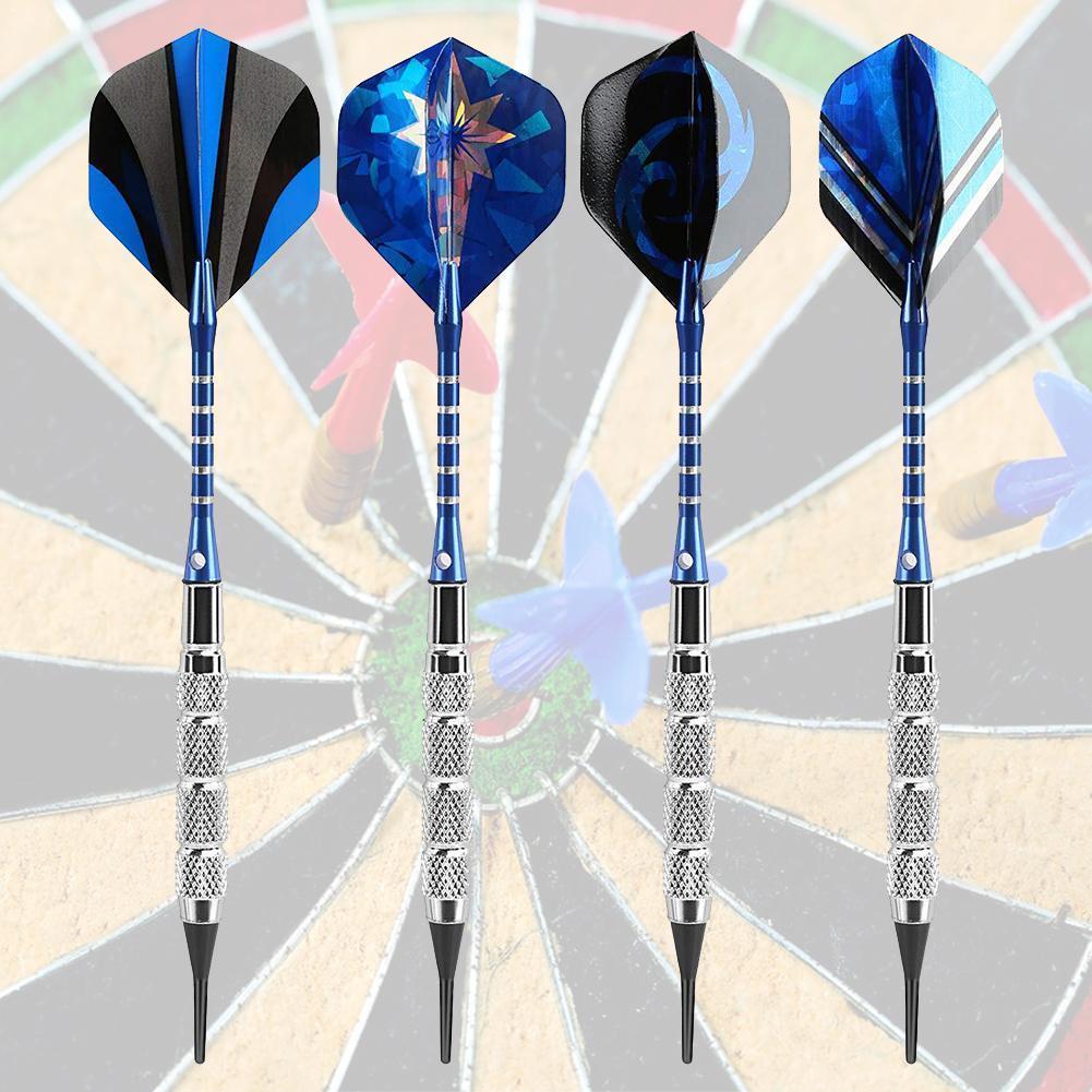 6Pcs Darts Flights Wing Dragon Pattern For Professional Darts Wing Tail Pip