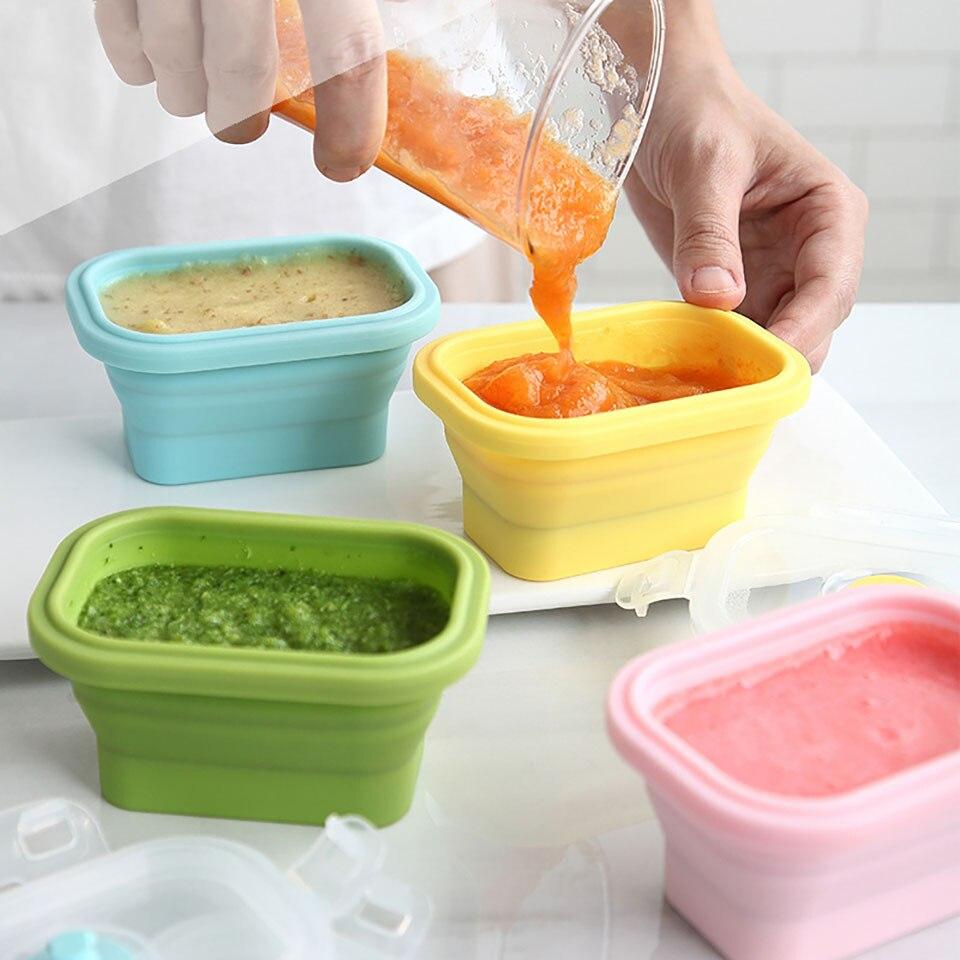 Прочные устойчивые Детские Контейнеры Bento, Ланч-бокс из здорового материала, обеденная посуда для микроволновой печи, контейнер для хранени...