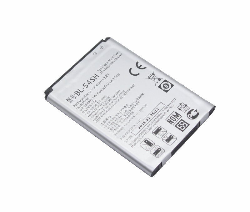 1x 2540mAh BL-54SH BL-54SG Replacement Battery For LG Optimus G3 Beat Mini G3s G3c B2MINI G3mini D724 D725 D728 D729 D722 D22