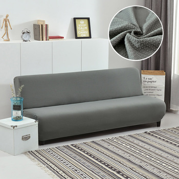 Slipcover Water Repellent Sofa Bed Cover Stretch Couch Cover Furniture Protector For Living Room Office Bench Folding Futon Sofa