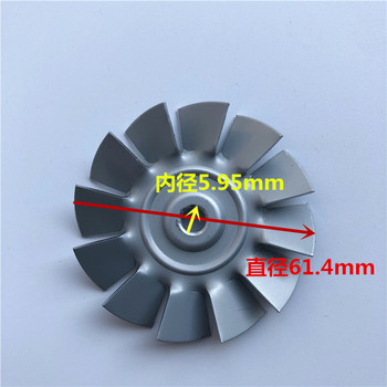 цена на Universal Motor Cooling Air Impeller Wind Impeller Vacuum Cleaner Motor Parts Suction Machine Motor Aluminum Impeller