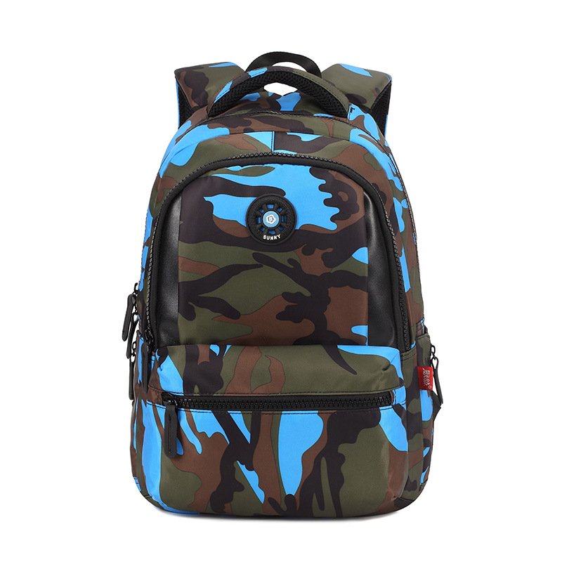 Schoolbag For Elementary School Students Fashion 1-2-4 Grade Camouflage School Bag Children Burden Relieving Shoulder School Bag