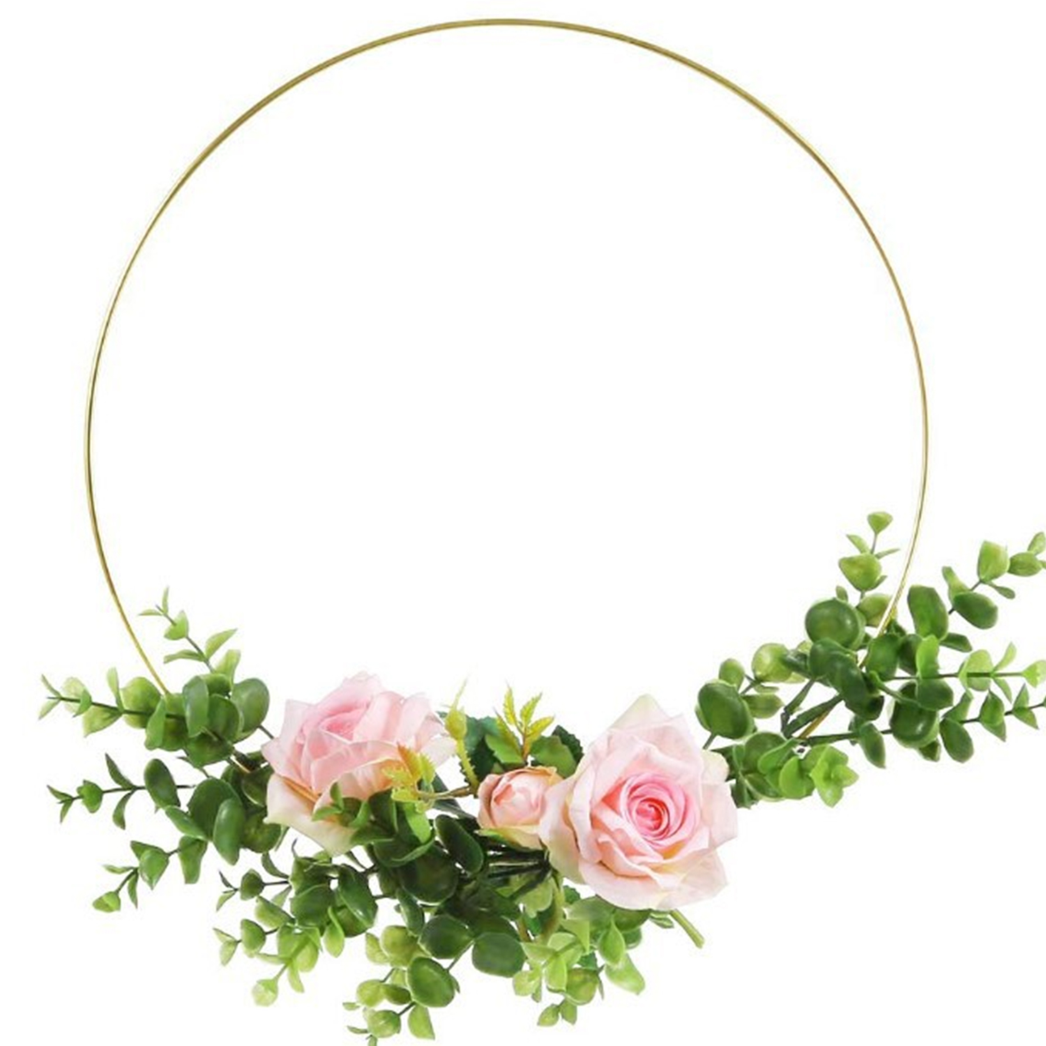 Metal Rings Hoops DIY Craft Supplies For Dream Catcher Dreamcatchers Wreaths Macrame Projects Wedding Decoration Dia 30/35/40CM