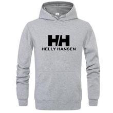 Hoodie Men's Hooded Sweatshirt 2019 Brand Men's Long Sleeve Print Hooded Sweatshirt Men's Hoodie Sportswear Streetwear contrast checked sleeve hoodie sweatshirt