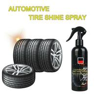 100ml Car Tire Cleaner Auto Tires Coating Protectant Cleaning Car Agent Tire Shine Spray Polishing Agent Car Maintenance Tool