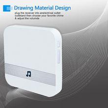 Wireless Wifi Smart Video Doorbell 433MHz Chime Music Receiv