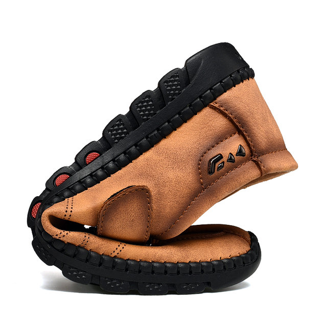 Men's new leather casual shoes flat shoes high quality casual men's shoes men's shoes boat shoes size 38-48