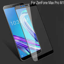 2PCS Full Curved Screen Protector For ASUS ZenFone Max Pro M1 ZB601KL Full Cover Tempered Glass Protective Flim ZB601KL(China)