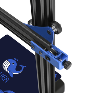Image 4 - 3D Printer Bluer Full Metal Frame High Precision Diy Kit Glass Platform Support Auto Leveling Resume Print Filament RunOut Dete