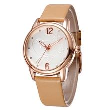 2020 새로운 럭셔리 브랜드 패션 LeisureSimpleStyleWomen WatchLeather 시계 밴드 쿼츠 시계 womensgift Relogio Feminino reloj mujer