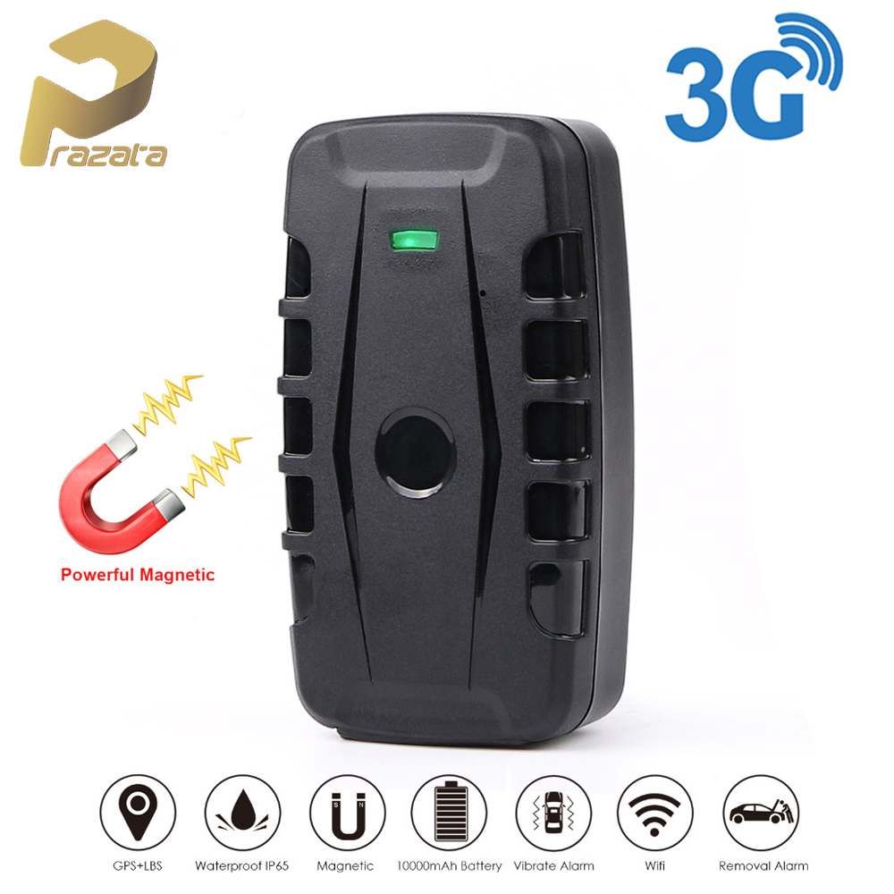 Prazata Vehicle Tracker Magnets Gps Locator Drop-Alarm LK209 Monitor 240 Car Waterproof title=
