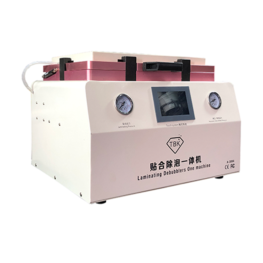 2 In 1 15 Inch TBK 308A Vacuum OCA Laminating Machine With Air Bubble Remove Function For Mobile Phone LCD Repair