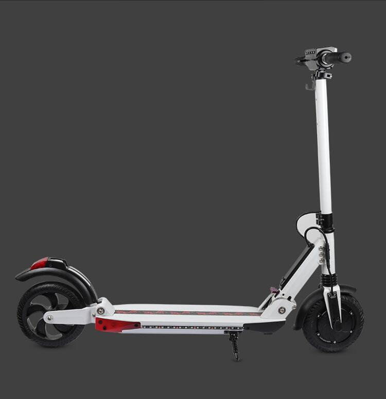 US $352 0 |SPEDWHEL 36V electric scooter Adult Folding Speed Scooter 3  Speed Modes 8 Inche IP54-in Self Balance Scooters from Sports &  Entertainment