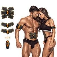 腹筋筋肉刺激 Ems トレーナー腹部 Eletroestimulador 筋肉スマートフィットネス Stymulator Miesni ボディ痩身マッサージ
