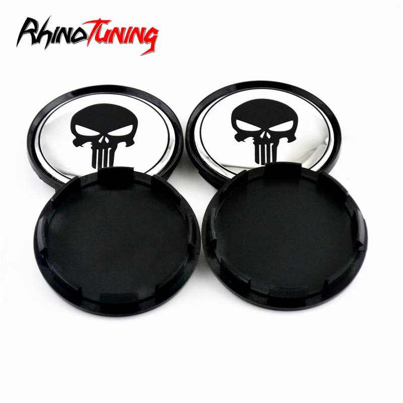 Image 5 - 4pcs 63mm 57mm for OZ Racing M595 Wheel Center Cap for Rims Skull Wheel Hub Caps Cover Superturismo WRC-in Wheel Center Caps from Automobiles & Motorcycles