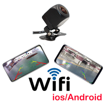 Wifi HD Night Vision Car Rear View Camera Reverse Parking Camera For IOS Waterproof CCD LED Auto Backup Monitor Universal