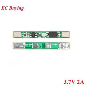 Image 5 - 100pcs 1S 3.7V 2A li ion BMS PCM 18650 Lithium Batterij Bescherming Boord Overbelasting over ontlading Korte circuit PCB ion li Mobiele