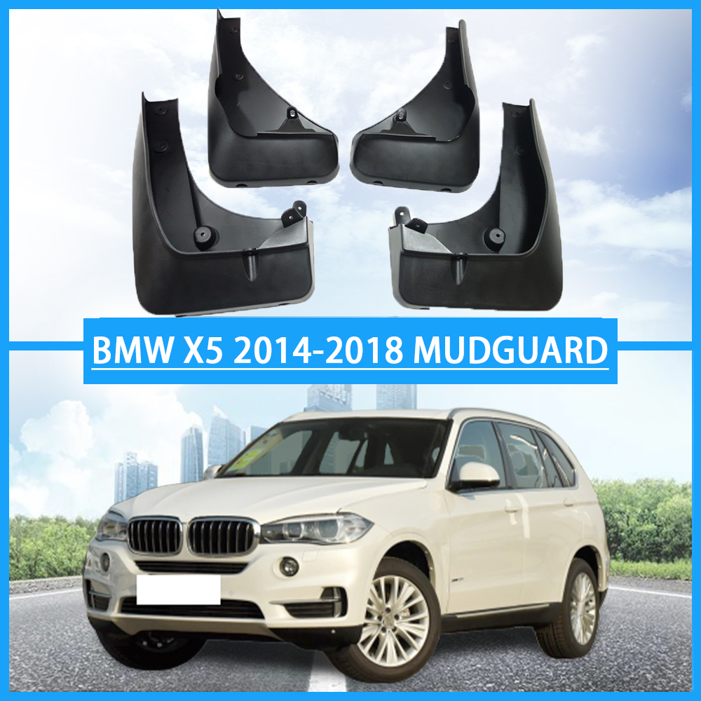 Genuine Mud Flaps Splash Fender Auto Accessories Mudguard 4 pcs Front Rear With Black Fit For BMW X2//M Version